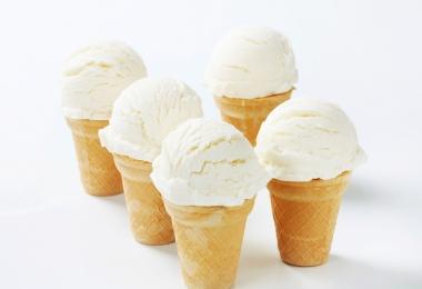 Kókuszos vaníliafagylalt