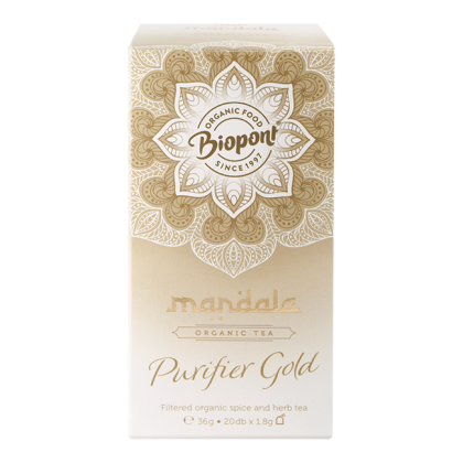Mandala tea, Purifier Gold BIO 36 g