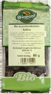 Keserű csokoládés buláta BIO 80 g