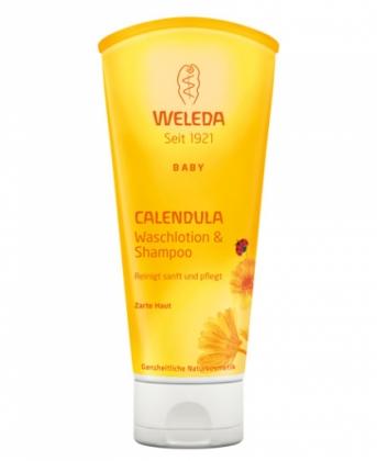 Weleda Calendula baba tusfürdő és sampon 200 ml