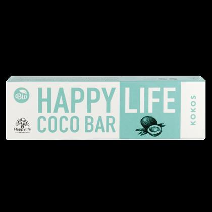 HAPPY LIFE COCO BAR - Kókuszos szelet BIO 40 g
