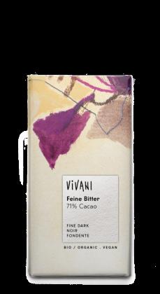 Keserű csokoládé BIO 100 g (Vivani)