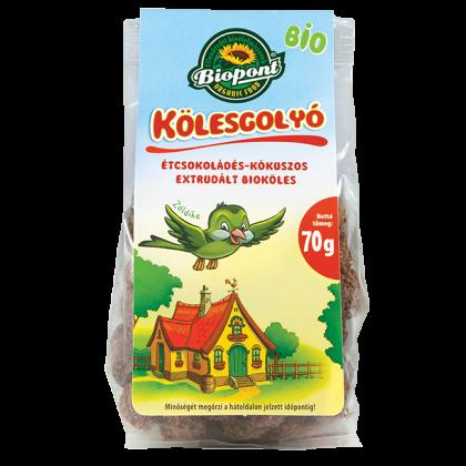 Étcsokoládés kókuszos extrudált köles BIO 70 g