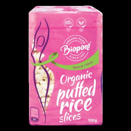 Puffasztott rizs szelet natúr BIO 100 g