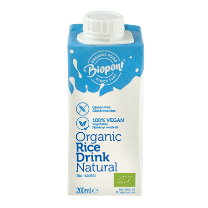 Rizsital BIO (gluténmentes) 200 ml (Biopont)