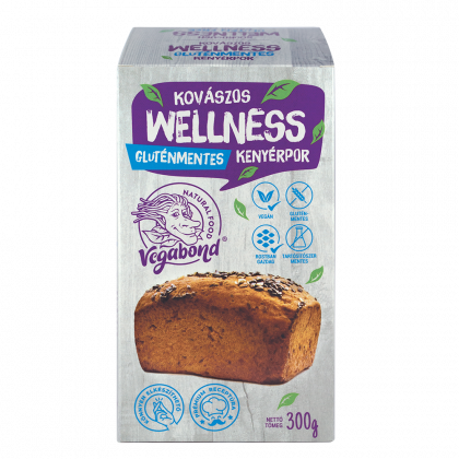 Vegabond Kenyérpor Kovászos Wellness 300 g