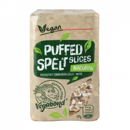 Vegabond Puffasztott tönkölybúza szelet natúr 100 g