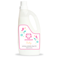 ANANDAM baby hipoallergén öblítő púder illattal 1 l