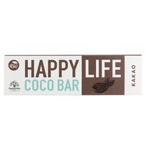 HAPPY LIFE COCO BAR - Kakaós-kókuszos szelet BIO 40 g