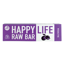 HAPPY LIFE RAW BAR - Szilvás szelet BIO 42 g