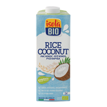 Rizsital kókuszos (gluténmentes) BIO 1 l (Isola Bio)